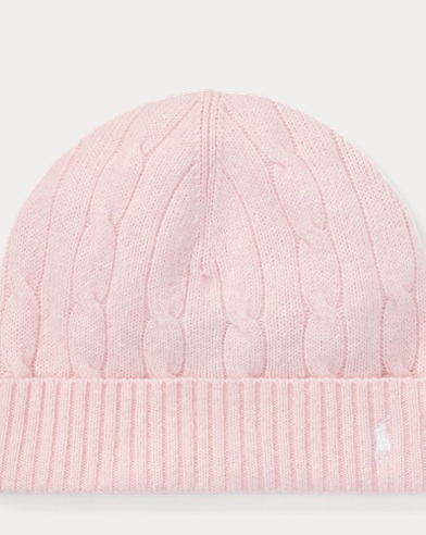 Cable-Knit Wool-Cashmere Hat