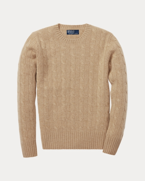 1039bf464181d8 Cable-Knit Cashmere Sweater