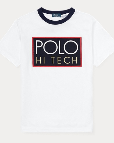 Hi Tech Cotton Jersey T-Shirt