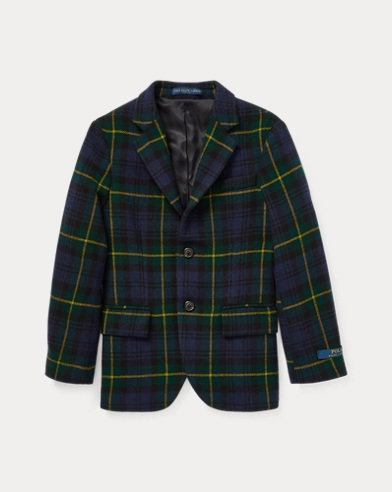 Polo Tartan Wool Sport Coat