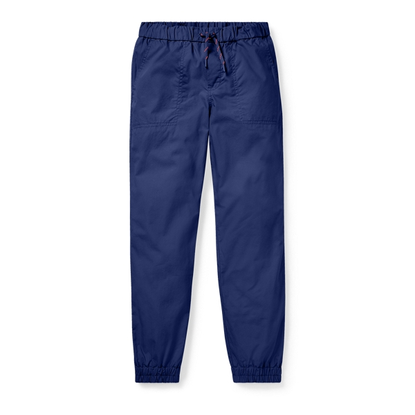 Ralph Lauren Cotton Poplin Jogger Boathouse Navy S
