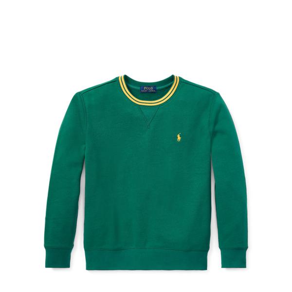 Ralph Lauren Cotton-Blend-Fleece Sweatshirt Bush Green Xl