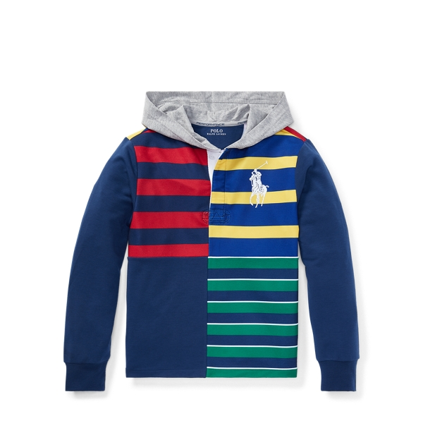Ralph Lauren Performance Graphic Hoodie Ralph Red S