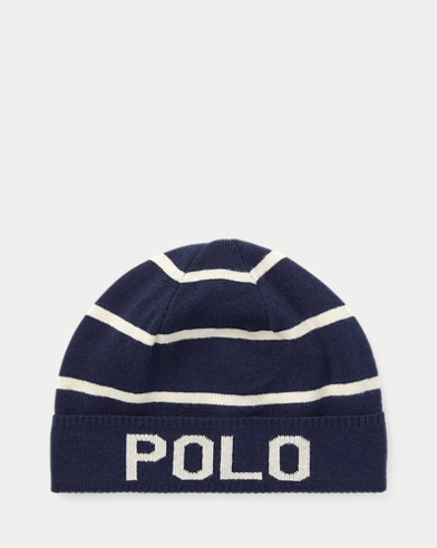 Striped Wool-Cotton Hat