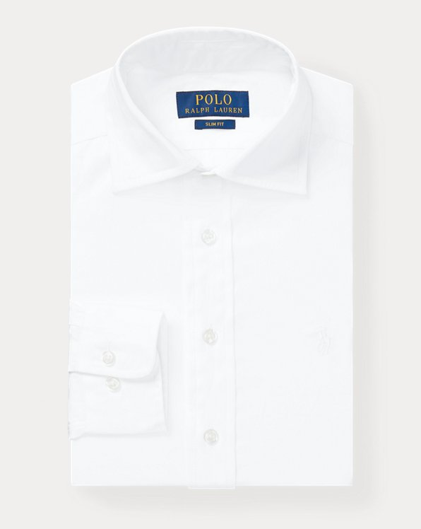Slim Fit Cotton Dress Shirt