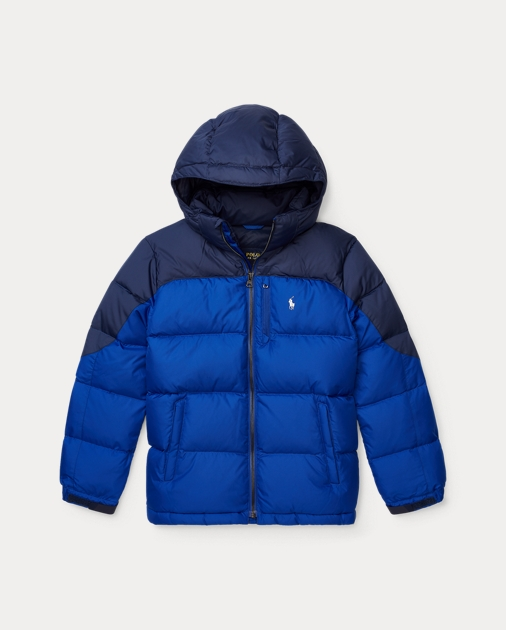 aea8bce34 BOYS 6-14 YEARS Quilted Ripstop Down Jacket 1