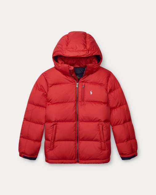 Boys 8-20 Quilted Ripstop Down Jacket