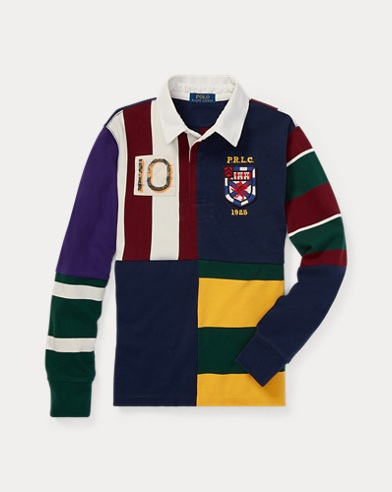 Patchwork Cotton Jersey Rugby