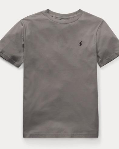 Cotton Jersey Crewneck T-Shirt