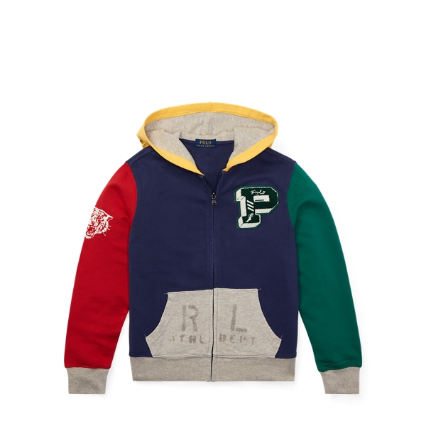 Ralph Lauren Cotton French Terry Hoodie Boathouse Navy S