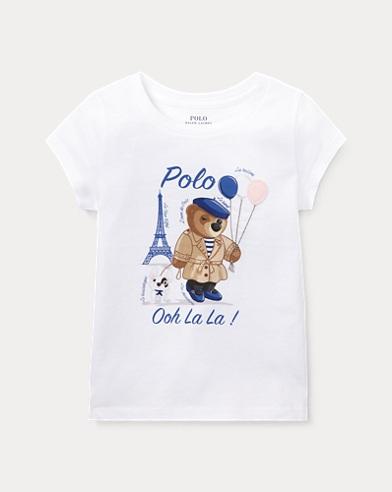 T-shirt Polo Bear en jersey