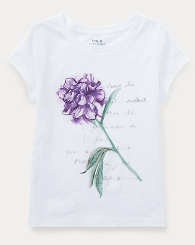 Floral Jersey Graphic T-Shirt