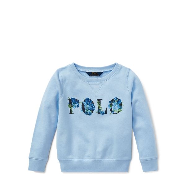Ralph Lauren Polo Atlantic Terry Pullover Elite Blue 5