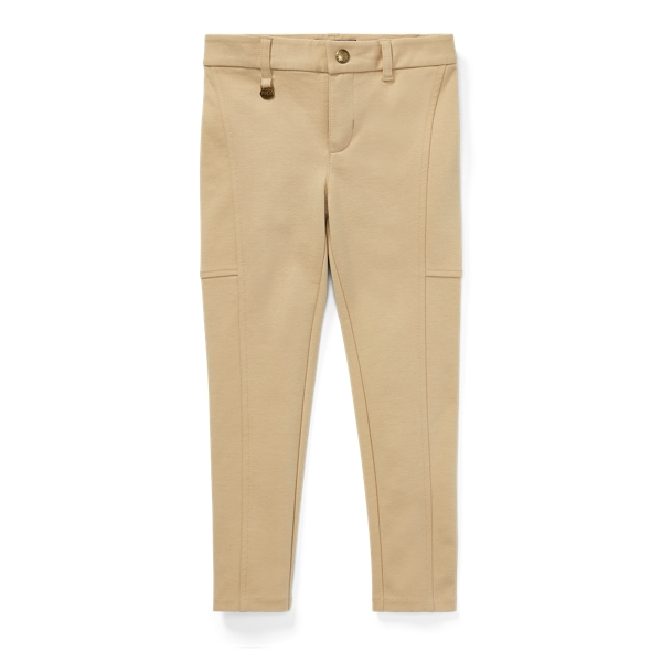 Ralph Lauren Skinny Ponte Pant Fall Khaki 6X
