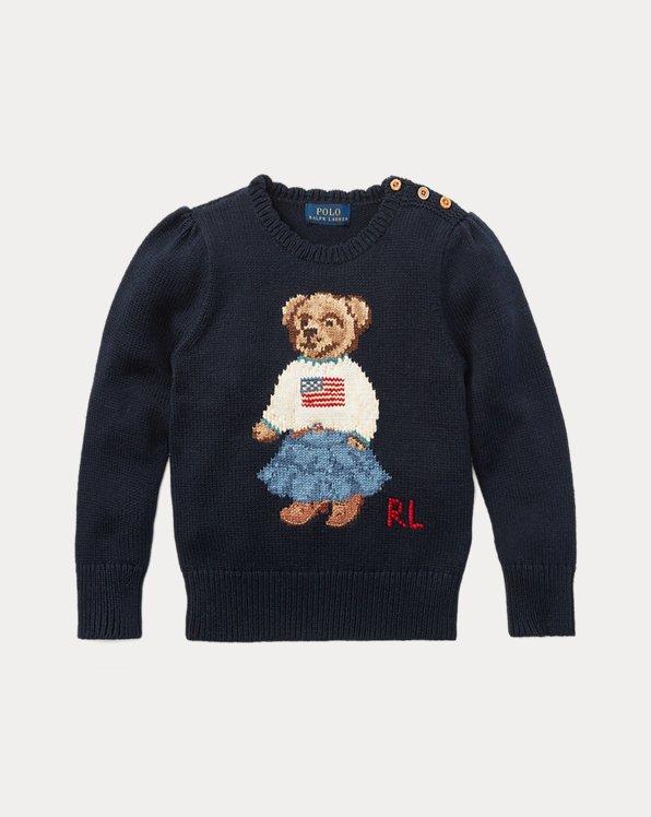 Pull Polo Bear en coton
