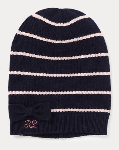 Striped Wool-Blend Hat