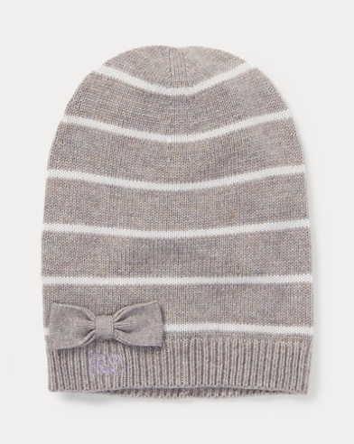 Striped Wool-Blend Hat