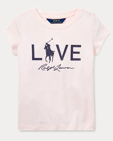 T-shirt Live Love Pink Pony