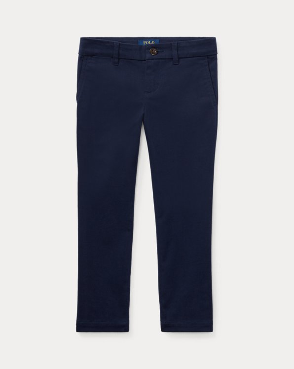 폴로 랄프로렌 여아용 치노 바지 Polo Ralph Lauren Stretch Cotton Chino,French Navy