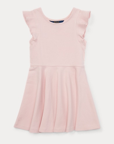 Ruffled Ponte Dress