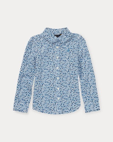 Floral Cotton Poplin Shirt