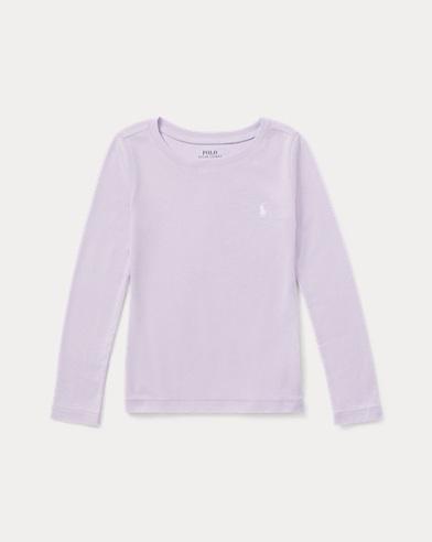 T-Shirt aus Baumwollmischgewebe
