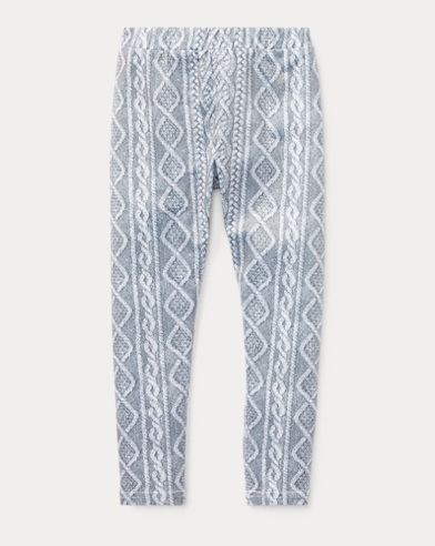 Cable Stretch Jersey Legging