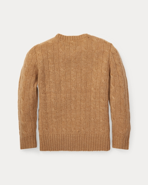 Cable Knit Cashmere Sweater | Sweaters Boys' 2 7 | Ralph Lauren