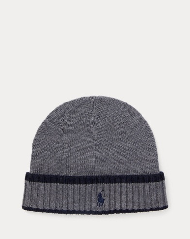 Striped Merino Wool Hat