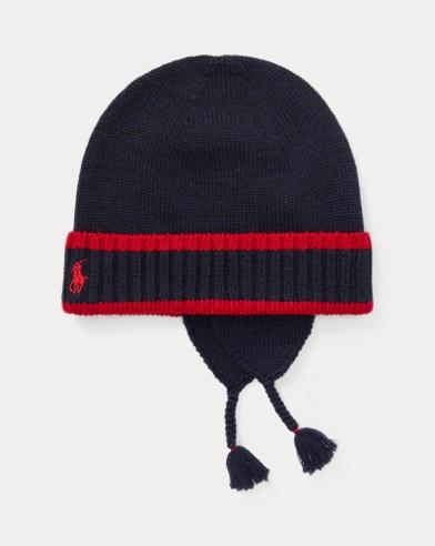 Merino Wool Earflap Hat