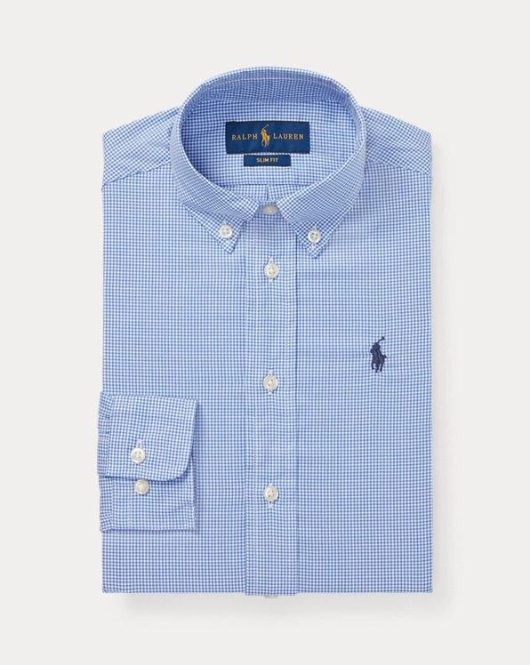 Camicia elegante in cotone Slim-Fit