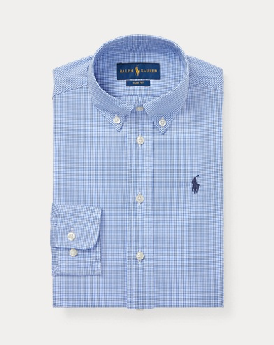 5003e58b6e Boys' Button Down Shirts & Dress Shirts in Sizes 2-20 | Ralph Lauren