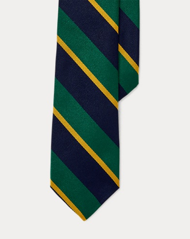Varsity Striped Silk Repp Tie