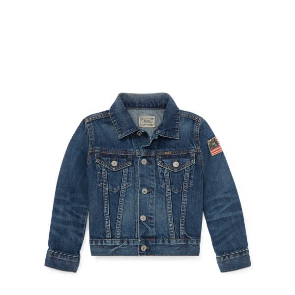 Polo Ralph Lauren Flag Denim Trucker Jacket
