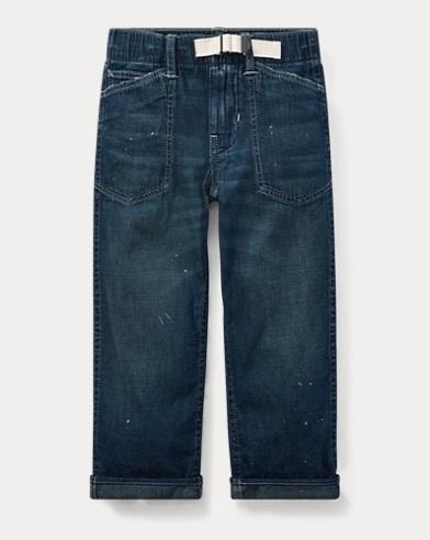 Denim Utility Jean