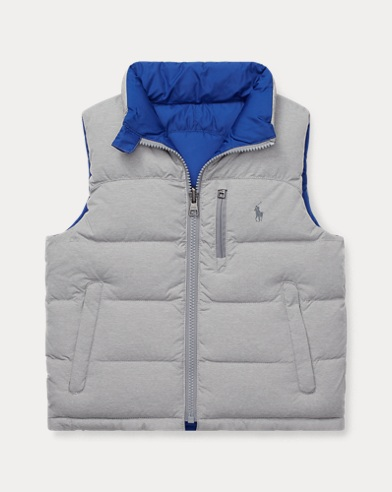Reversible Quilted Down Vest