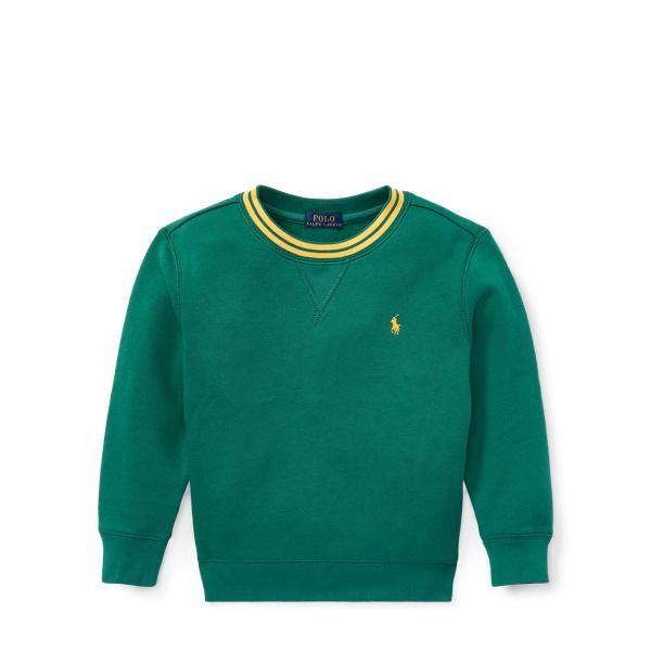 Ralph Lauren Cotton-Blend-Fleece Sweatshirt Bush Green 2T