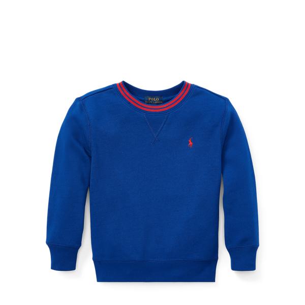 Ralph Lauren Cotton-Blend-Fleece Sweatshirt Sistine Blue 4T
