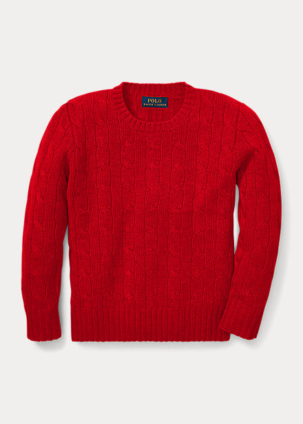 Polo Ralph Lauren Cable-Knit Cashmere Sweater