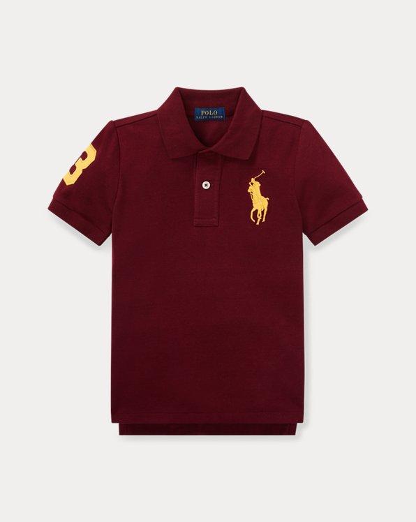 Polo aus Baumwollpiqué mitBig Pony