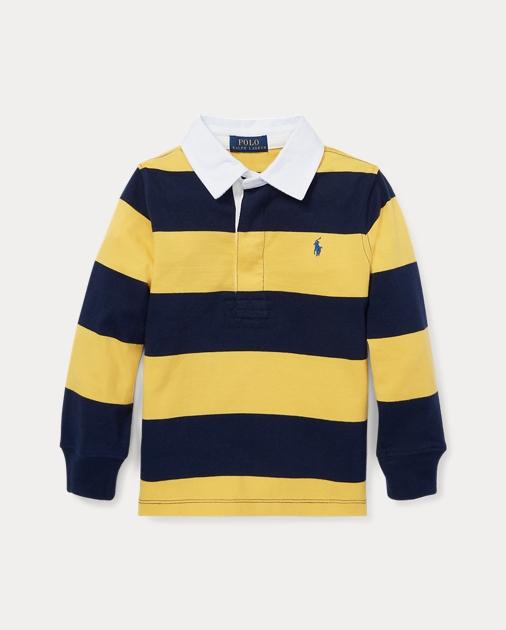0e3da9eb4c8 produt-image-0.0. produt-image-1.0. Kids Boys Polo Shirts Striped Cotton  Jersey Rugby