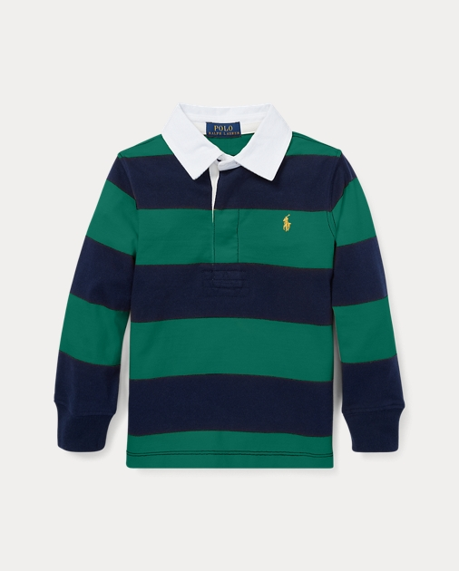 2f755c79e2a BOYS 1.5-6 YEARS Striped Cotton Jersey Rugby 1
