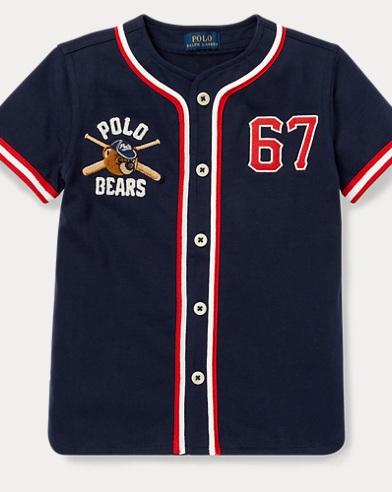 Polo Bear Baseball Jersey