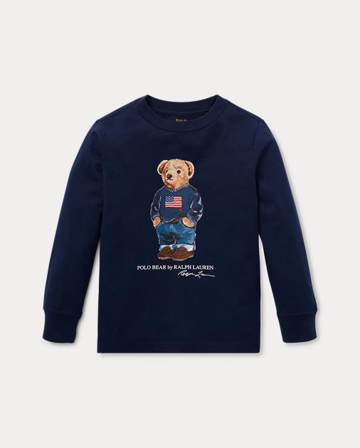 402a39150 Boys 2-7 Polo Bear Cotton T-Shirt 1