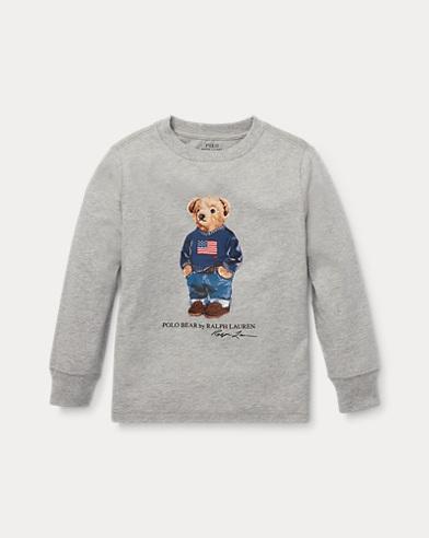 T-shirt Polo Bear en coton