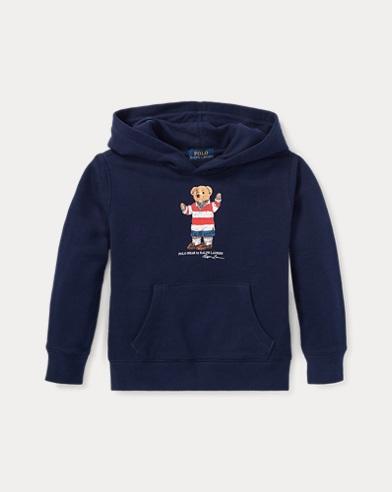 Rugby Bear Fleece Hoodie