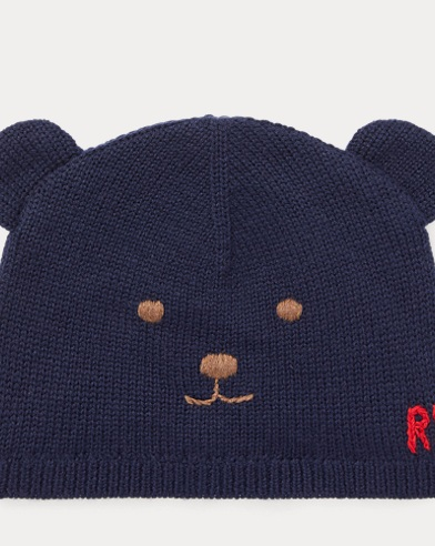 Wool-Cotton Bear Hat