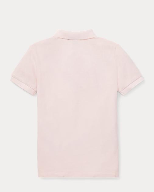 Boys 2-7 Pink Pony Cotton Mesh Polo 2