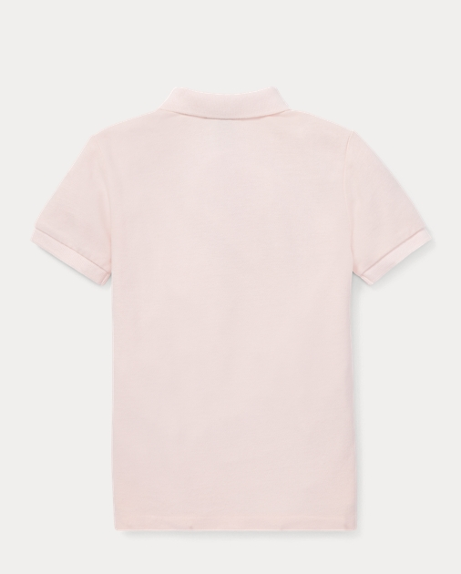 Boys 2-7 Pink Pony Cotton Mesh Polo 2