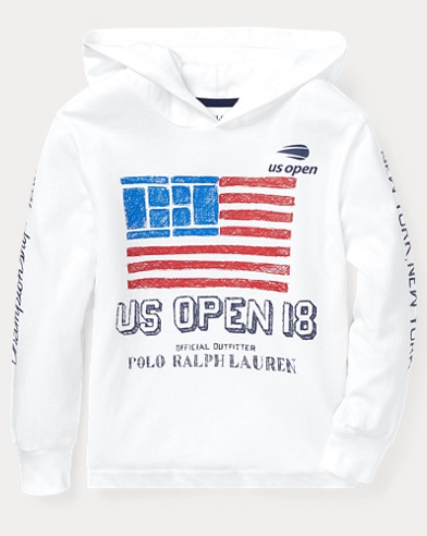 US Open Cotton Hooded T-Shirt